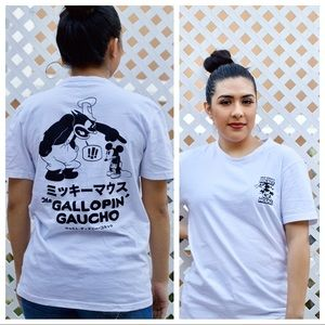 Disney Mickey Mouse The Gallopin Gaucho Kanji T